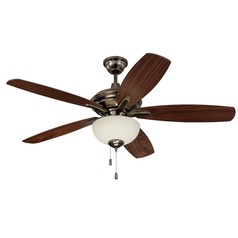 Craftmade Lighting Copeland Legacy Brass Ceiling Fan with Light
