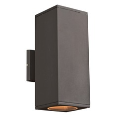 PLC Lighting Dominick Bronze LED Outdoor Wall Light