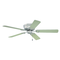 Craftmade Lighting Pro Universal Hugger Brushed Satin Nickel Ceiling Fan Without Light