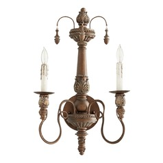 Quorum Lighting Salento Vintage Copper Sconce