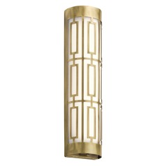 Kichler Lighting Empire Natural Brass LED Bathroom Light