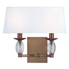 Cameron ADA 2 Light Sconce - Brushed Bronze