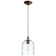 Cyan Design Celia Oiled Bronze Mini-Pendant with Bowl / Dome Shade