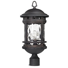 Elk Lighting Costa Mesa Weathered Charcoal Post Light