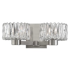 Anson 2 Light Bathroom Light - Satin Nickel