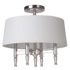 Craftmade Lighting Ella Polished Nickel Semi-Flushmount Light
