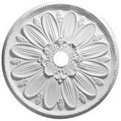 Large Decorative Medallion for Ceiling Lights - 30-Inches Wide