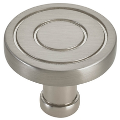 Satin Nickel Cabinet Knob 1-1/4-inch