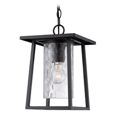 Quoizel Lodge Mystic Black Outdoor Hanging Light