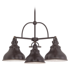 Farmhouse Chandelier Bronze Emery by Quoizel Lighting