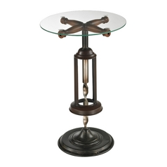 Sterling Lighting Mayfield Bronze Accent Table