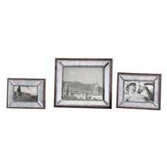 Uttermost Daria Antique Mirror Photo Frames Set of 3