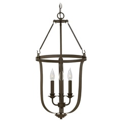 Hinkley Lighting Fenmore Textured Bronze Pendant Light
