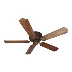 Craftmade Lighting Pro Universal Hugger Rustic Iron Ceiling Fan Without Light