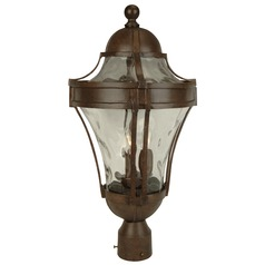 Craftmade Lighting Parish Aged Bronze Post Light