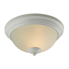 Cornerstone Lighting Huntington White Flushmount Light