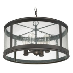 Capital Lighting Dylan Old Bronze Outdoor Hanging Light