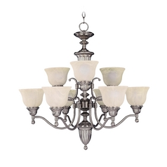 Maxim Lighting Soho Satin Nickel Chandelier