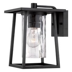 Quoizel Lighting Quoizel Lighting Lodge Mystic Black Outdoor Wall Light LDG8408K