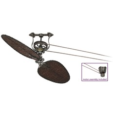 Fanimation Fans Brewmaster Pewter Ceiling Fan Without Light