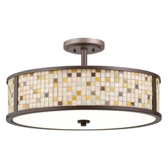 Kichler Ceiling Light in Olde Bronze Finish