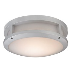 Elk Lighting Colby Matte Silver LED Close To Ceiling Light