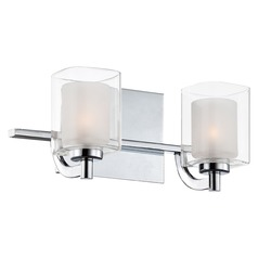 Quoizel Lighting Kolt Polished Chrome Bathroom Light