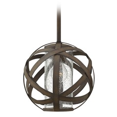 Hinkley Lighting Carson Vintage Iron Outdoor Hanging Light