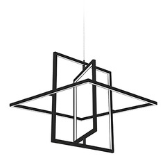 Kuzco Lighting Modern Black LED Pendant 3000K 1050LM