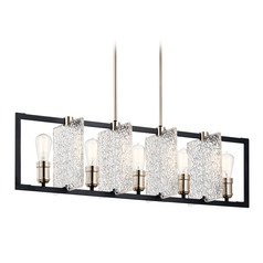 Kichler Lighting Forge 5-Light Black Chandelier