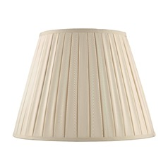 Spider Empire Pleated Cream Lamp Shade