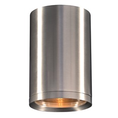 Plc Lighting Marco Brushed Aluminum LED Outdoor Wall Light