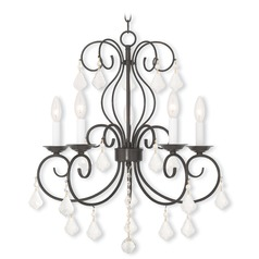 Livex Lighting Donatella English Bronze Chandelier