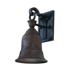 Outdoor Wall Light in Cenntinial Rust Finish