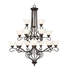 Livex Lighting Coronado Bronze Chandelier