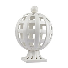 Ceramic Basket Weave Trophy