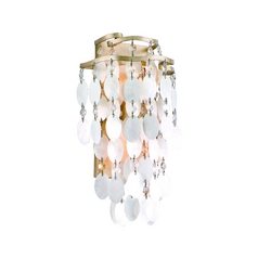 Corbett Lighting Dolce Champagne Leaf Sconce