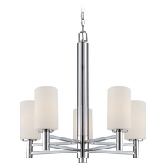Lite Source Lighting Jerrell Chrome Chandelier