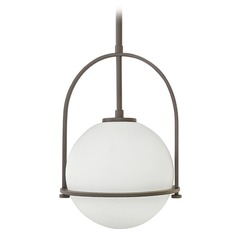 Hinkley Lighting Somerset Buckeye Bronze Pendant Light with Globe Shade