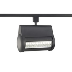 Black LED Wall Washer for Halo Track Systems 4000K 3200LM