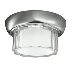 Norwell Lighting Carousel Polished Nickel Flushmount Light