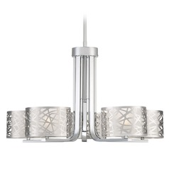 Quoizel Lighting Platinum Collection Abode Polished Chrome Chandelier