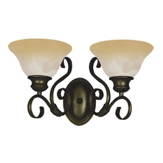 Maxim Lighting Pacific Kentucky Bronze Bathroom Light