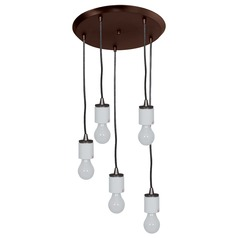 Access Lighting Circ Oil Rubbed Bronze Multi-Light Pendant