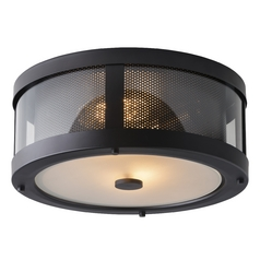 Feiss Lighting Bluffton Oil Rubbed Bronze Close To Ceiling Light