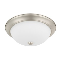 HomePlace Lighting Ceiling Matte Nickel Flushmount Light