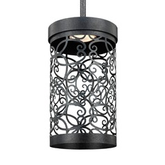 Feiss Lighting Arramore Dark Weathered Zinc LED Outdoor Hanging Light