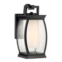 Quoizel Lighting Terrace Mystic Black Outdoor Wall Light