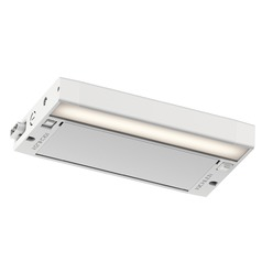Kichler Lighting 6u Series LED Textured White 8-Inch LED Under Cabinet Light