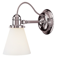 Hudson Valley Lighting Adjustable Single Light Sconce 2341-PN